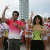 Tushar Kapoor dancing with hot girls | Golmaal Returns Photo Gallery