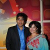 Ashutosh Rana and Divy Dutta at Premiere of movie Monica