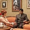 Neha Dhupia and Raghuvir Yadav in the movie Dear Friend Hitler