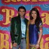 Anushka Sharma & Ranveer Singh during the Shoot promo of Band Baaja Barat by Sony Tv in Mumbai