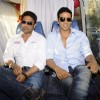 Akshay Kumar and Sunil Shetty promote Thank You at Madh Mumbai. .