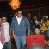 Abhishek and Farhan at Zapak.com Game film event at Novotel