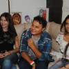 Aarti and Claudia at Director Anil Sharma hosted the cricket screening at his house