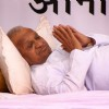 Social activist Anna Hazare's fast-unto-death entered the third day at Janter Manter in New Delhi