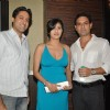 Sumeet Sachdev, Sandeep Baswana and Ashlesha Savant at AR Rahman's The Spirit of Music at Novotel