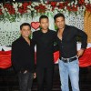 Anees Bazmee with Irrfan and Sunil Shetty at Premiere of Thank You movie at Chandan, Juhu, Mumbai