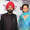 Charan Singh Sapra and Parineet Kaur at Baisakhi Di Raat celebration by Punjab cultural