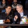 Akshay Kumar with Stephen Harper Canadian Prime Minister at 'Thank You' movie premiere in Canada