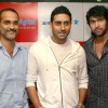 "Abhishek Bachchan at Reliance Digital store to promote his film ""Dum Maro Dum"", in New Delhi"