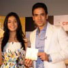 Tusshar Kapoor & Amrita Rao at Love U... Mr. Kalakaar! music Launch at Cinemax, Mumbai