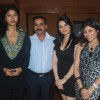 Cast and crew at Press meet of film 'Overtime' at Marimba