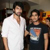 Rana Daggubati and Prateik Babbar at special screening of movie 'Dum Maaro Dum' at PVR Juhu