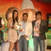 Neha Dhupia and Vivek Oberoi launch singer Apoorv's album at Vie Lounge. .