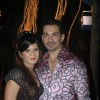 Abhinav Shukla at Debina Bonnerjee bday bash at Madh with Retro Theme