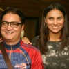 Lara Dutta and Vinay Pathak at the unveiling of Gitanjali's new Jewellery collection,in New Delhi