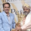 Actor Dharmendra launches Ali Peter's book on his 60th Birthday at PL Deshpande Hall. .