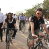 Imran Khan at BSA Hercules India Cyclothon, Bandra