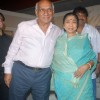 Yash Chopra and Asha Bhosle at the muhurat of the film Maaee in Mumbai
