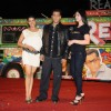Salman Khan with Asin and Zarine at 'Ready' music launch at Film City