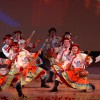 Dancers performing traditional Chinese dance of Sichuan province during a programme at Siri Fort auditorium in New Delhi