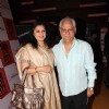 Ramesh and Kiran Sippy at premiere of movie 'Shor In The City'