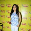 Juhi Chawla at Radio Mirchi studio, Lower Parel for I AM movie