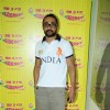 Rahul Bose at Radio Mirchi studio, Lower Parel for I AM movie