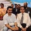 Dilip Kumar and Aamir Khan at CINTAA celebrations at Andheri. .