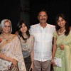 Suresh Oberoi with his family at Yogi Rishi Swami Ramdev interaction on the subject of Enrichment of