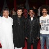 Makrand Deshpande and Vikram Gokhale at premiere of movie 'Balghandarva'