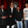 Makrand Deshpande and Jackie Shroff at premiere of movie 'Balghandarva'