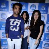 Ekta Kapoor with Raj Kumar Yadav and Kainaz Motivala cast of Ragini MMS at Radio one at Parel