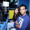 Raj Kumar Yadav and Kainaz Motivala cast of Ragini MMS at Radio one at Parel