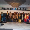 Models walk the ramp at IITC Annual Fashion Show