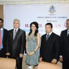 Yana Gupta at IMC-Czech design event, IMC chambers in Mumbai