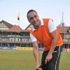 Rahul Bose at celebrity hockey match