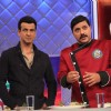 Host Ronit Roy and Chef Gauti at Kitchen Champion 4