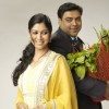 Ram Kapoor and Saakshi Tanwar as Ram and Priya in Bade Acche Laggte Hai