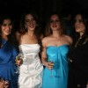 Sophie Chowdhary and Laila Khan at Farah Ali Khan's dinner for Moet & Chandon champagne launch