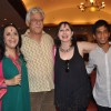 Om Puri and Ila Arun at press meet of Film 'West is West'