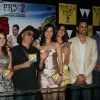 Cast and Crew at music launch of movie Bheja Fry 2 at Tryst in Mumbai