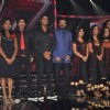 Sanjay Leela Bhansali with contestant at X FACTOR 12 finalists Introduction in Filmcity. .