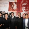 Amitabh Bachchan, Prateik Babbar at film 'Aarakshan' first look launch at Hotel Novotel in Juhu, Mumbai
