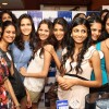 The finalist of Ford Super Model-India, in New Delhi