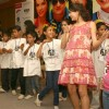 Giselle Monteiro with 'Khushi' children at a promotional event for film 'Always Kabhi Kabhi',in New