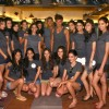 The finalist of 'Ford Models-India' at the Breathe-Spa & Gym, in New Delhi