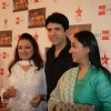 Anita Kanwal, Sooraj Thapar and Shruti Ulfat at Big Television Awards at YashRaj Studios