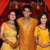 Manish Tulsiyani, Shambhavi Sharma and Anjali Abrol at Chhajje Chhajje Ka Pyaar tvshow on location