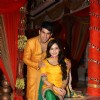 Manish Tulsiyani and Shambhavi Sharma at Chhajje Chhajje Ka Pyaar tvshow on location shoot