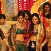 Ratan Rajput with guests at Mehndi ceremony on the sets of Swayamvar Season 3 - Ratan Ka Rishta